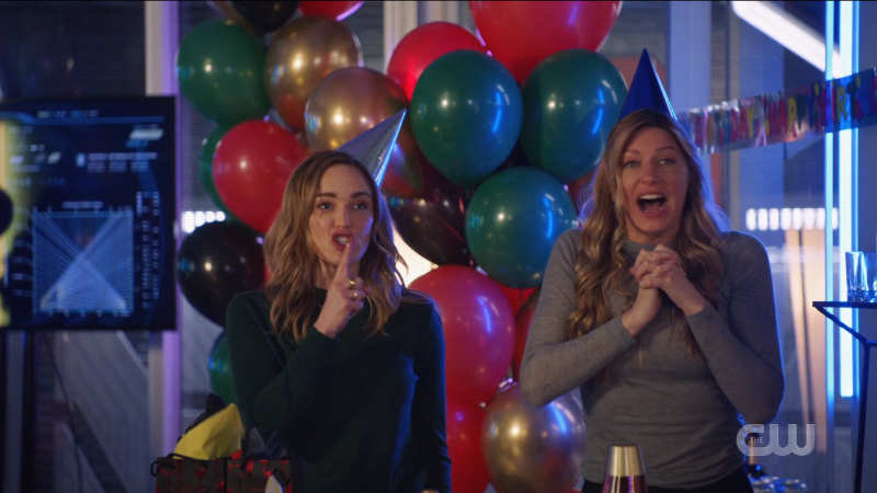 Legends of Tomorrow Episode 609: Avalance, Ava and Sara are being dorky at Behrad's party