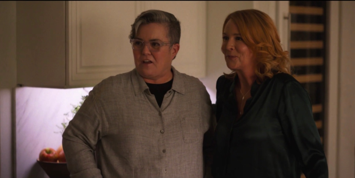 Carrie and Tina in the kitchen