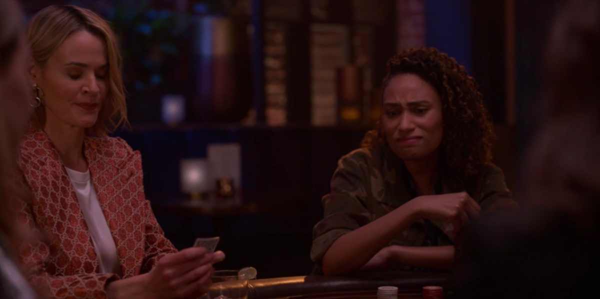 sophie and alice at poker