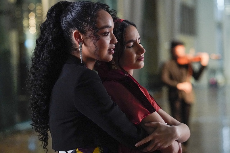 """Kat and Adena embrace each other and a future together, this week on """"The Bold Type."""""""