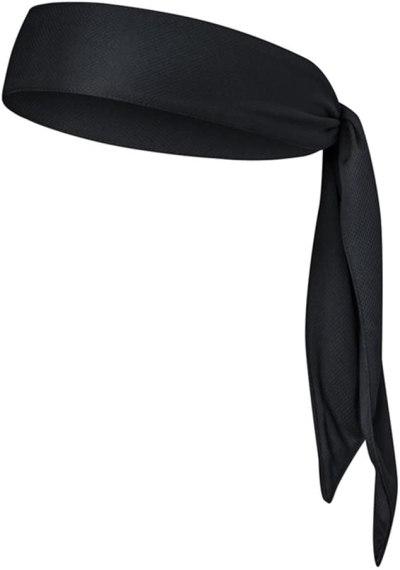 a black bandana