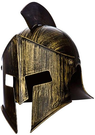 a roman centurian helmet