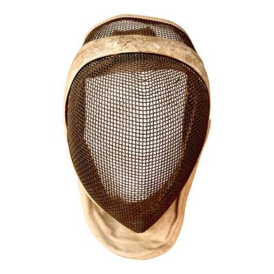 a vintage fencing mask
