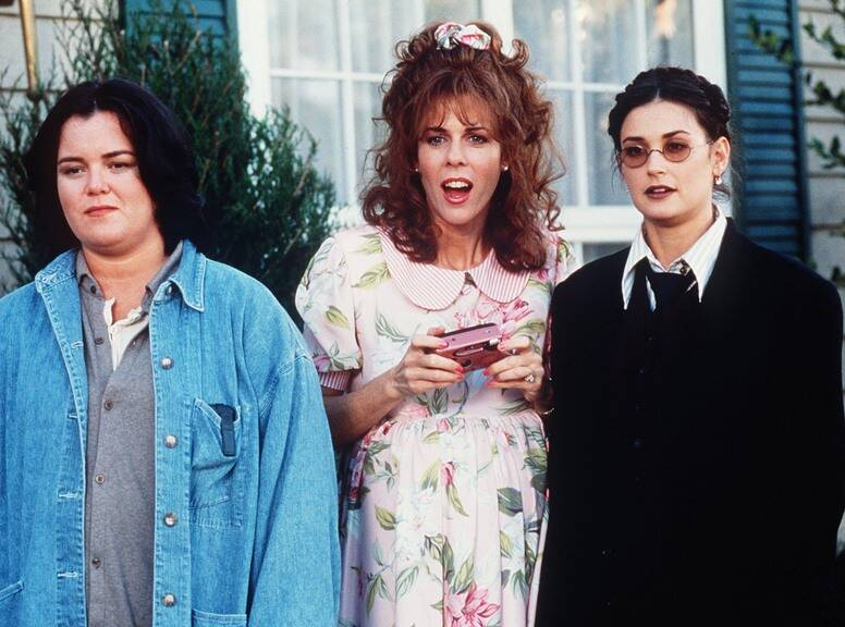 """Rosie O'Donnell, Rita Wilson and Demi Moore in """"Now and Then"""""""