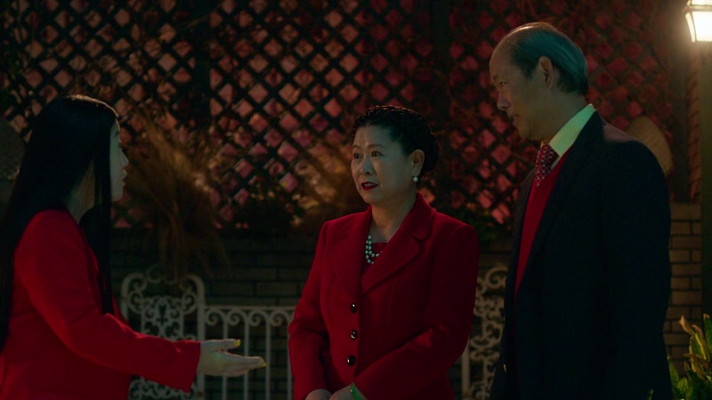 Alice talks to her parents this week on Good Trouble.