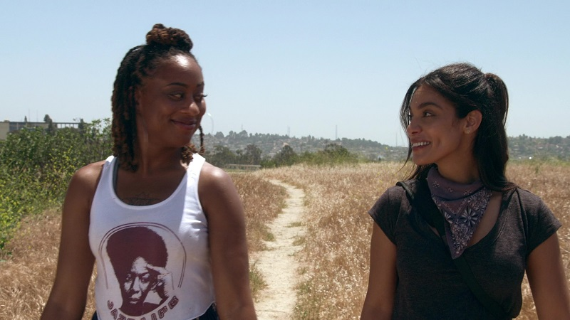 Malika and Angelica have their first maybe-date, a hike, this week on Good Trouble.