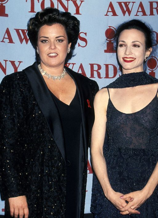Rosie O'Donnell and Bebe Neuwirth during 48th Annual Tony Awards