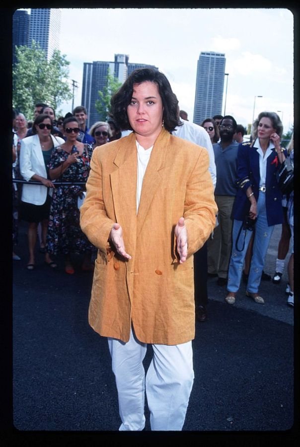 165644 05: Comedienne Rosie O''Donnell attends the Cirque Du Soleil August 1, 1993 in Chicago, IL. The acclaimed circus show has forged an alliance against AIDS with Elizabeth Taylor and will donate the proceeds from tonight's performance to the Howard Brown Health Center and Chicago House. (Photo by Barry King/Liaison)
