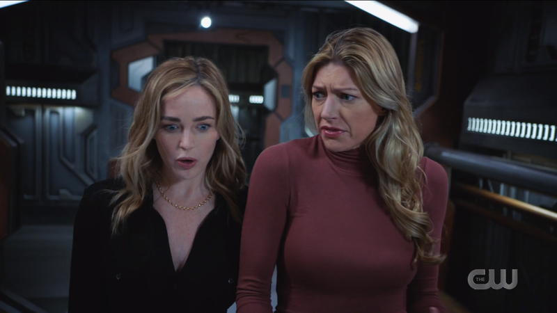 Avalance: Ava and Sara are both inexplicably making truly insane faces while walking and talking