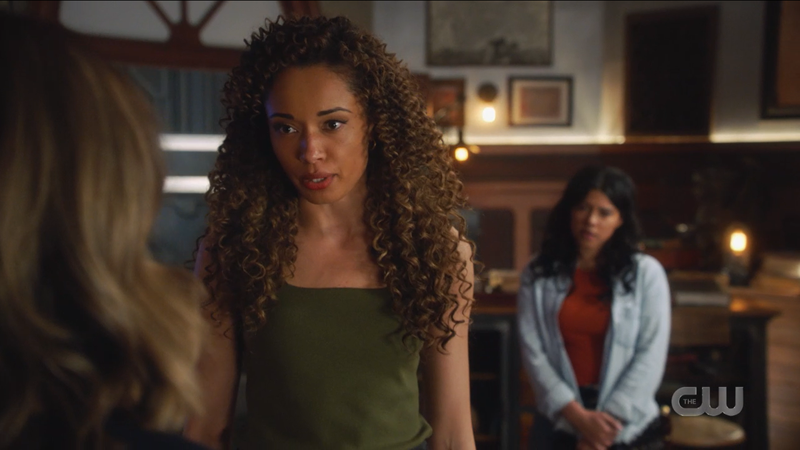Astra stands up to Zari and won't let her go.