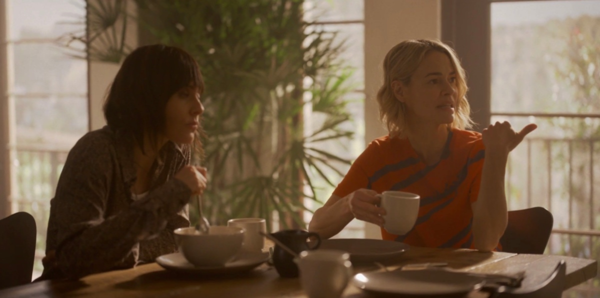 Shane and Alice at the breakfast table