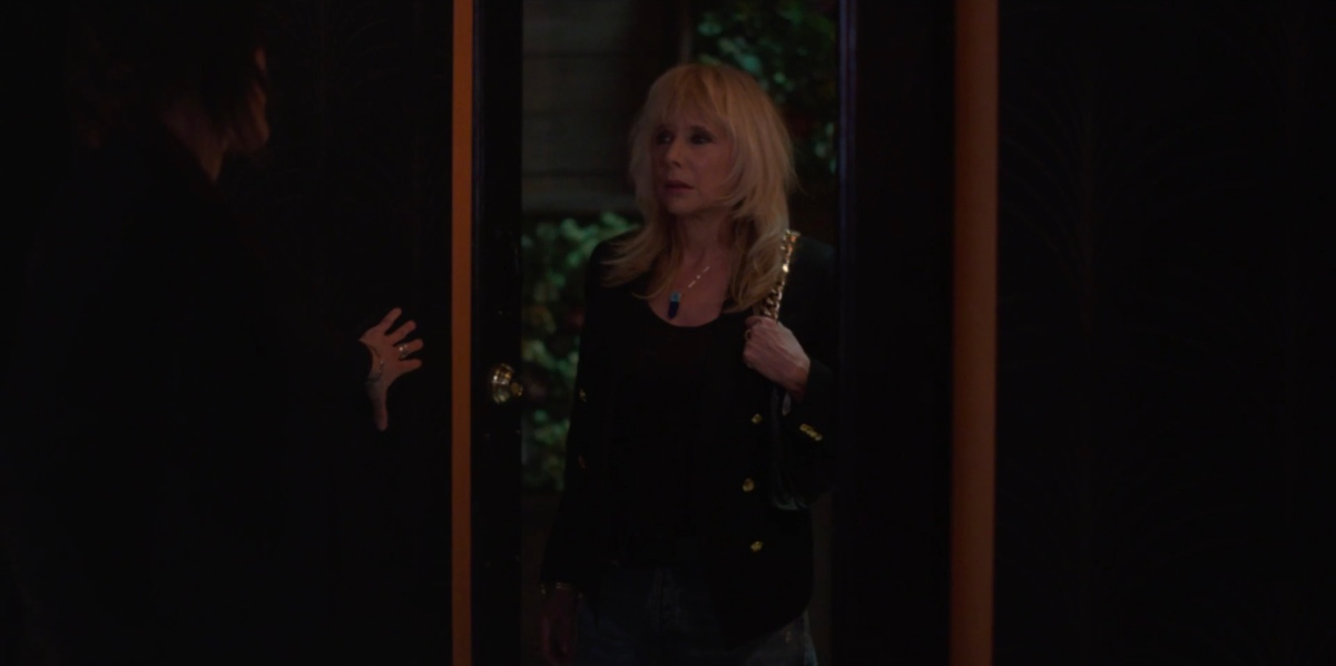 Cherie at the door