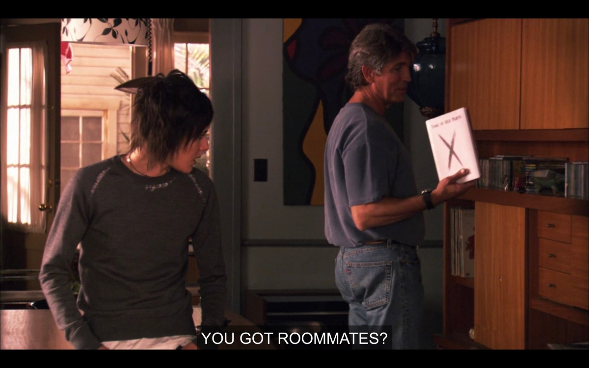 Shane and her Dad in Season Four
