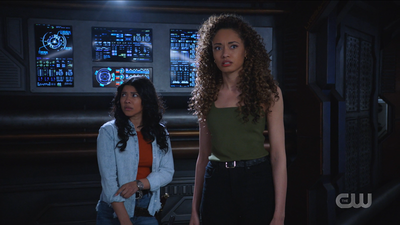 Astra and Spooner realize they're alone on the ship