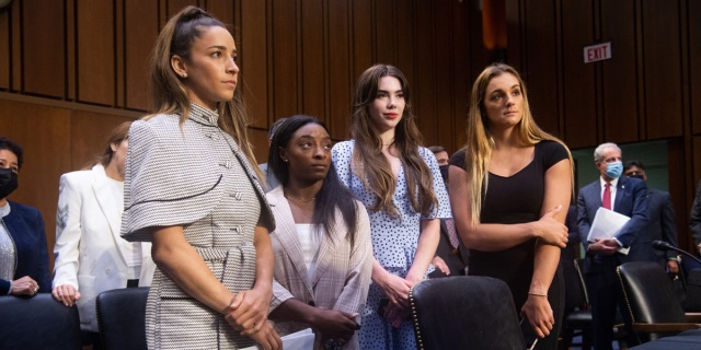 US Gymnasts Aly Reisman, Simone Biles, McKayla Maroney testify in front of congress
