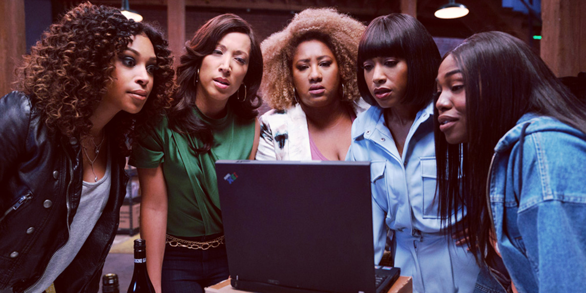 The cast of A BlackLady Sketch Show