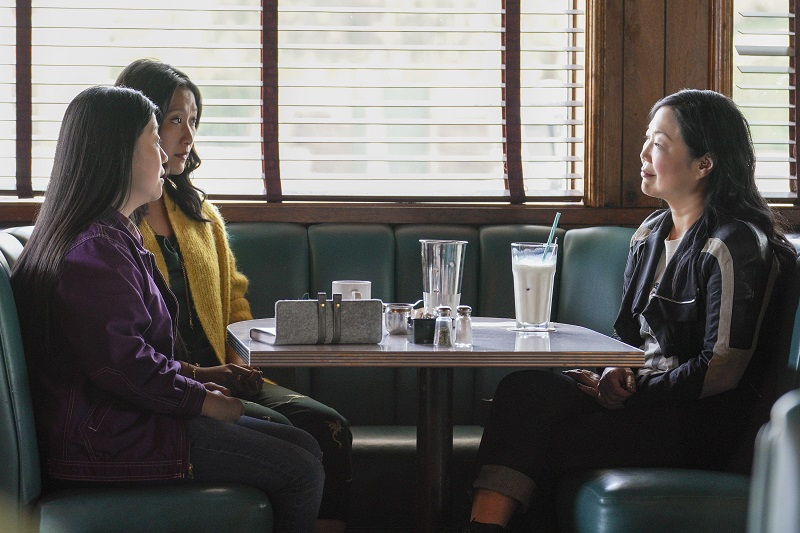 Good Trouble: Alice and Sumi try to convince Margaret Cho to take over the director's slot of the CBTV showcase.