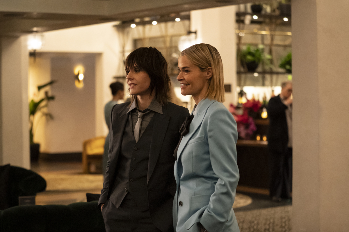 """(L-R): Katherine Moennig as Shane and Leisha Hailey as Alice in THE L WORD: GENERATION Q """"Light"""". Photo Credit: Liz Morris/SHOWTIME."""