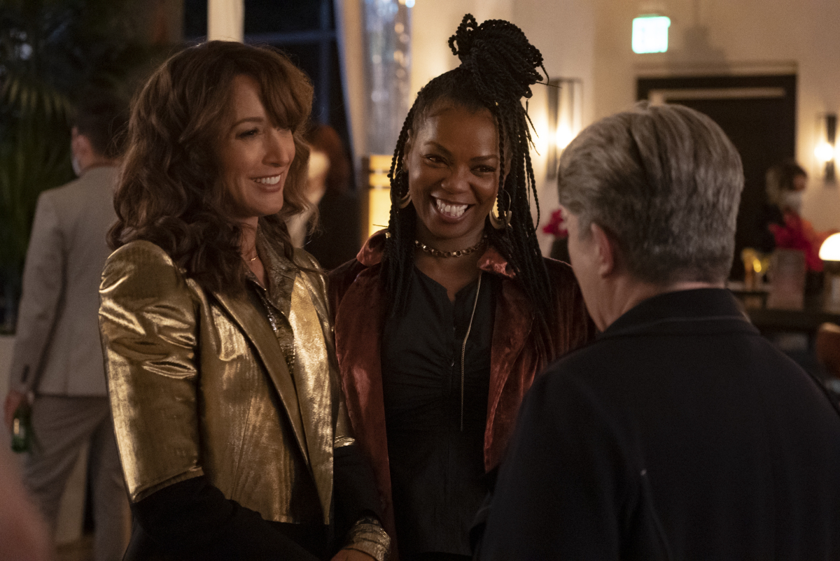 """(L-R): Jennifer Beals as Bette and Vanessa A. Williams as Pippa in THE L WORD: GENERATION Q """"Light"""". Photo Credit: Kelsey McNeal/SHOWTIME."""