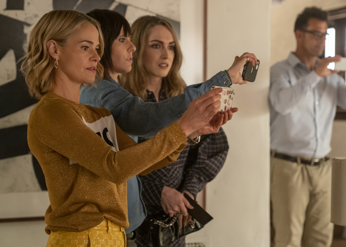 """(L-R): Leisha Hailey as Alice, Katherine Moennig as Shane and Jamie Clayton as Tess in THE L WORD: GENERATION Q """"Last Dance"""". Photo Credit: Liz Morris/SHOWTIME."""
