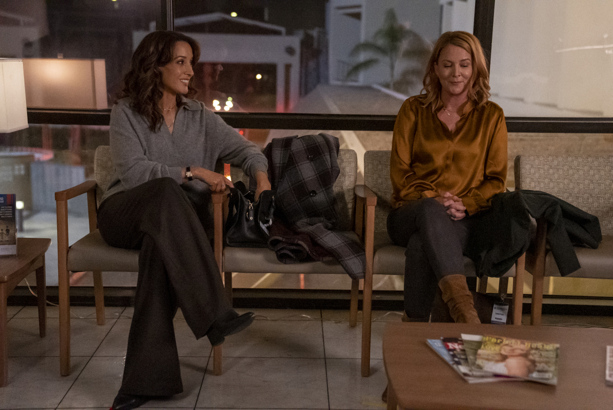 """(L-R): Jennifer Beals as Bette and Laurel Holloman as Tina in THE L WORD: GENERATION Q """"Last Dance"""". Photo Credit: Kelsey McNeal/SHOWTIME."""