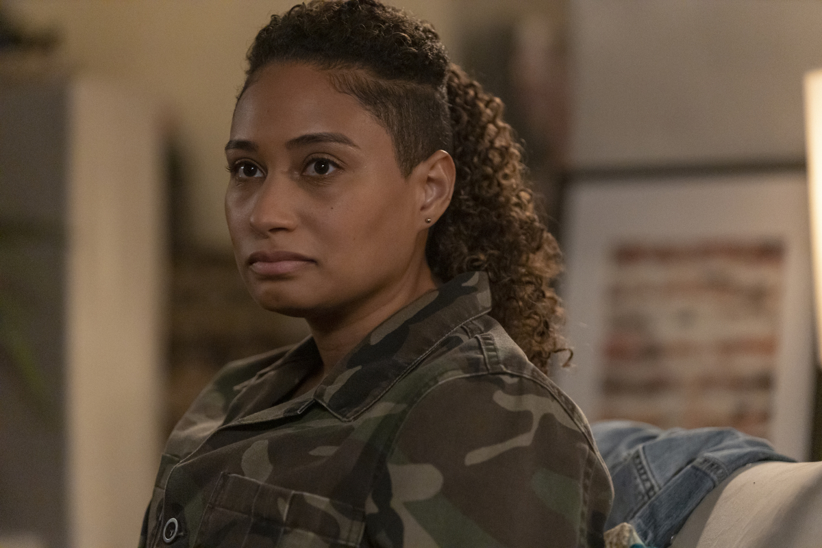 """Rosanny Zayas as Sophie in THE L WORD: GENERATION Q """"Last Call"""". Photo Credit: Paul Sarkis/SHOWTIME."""