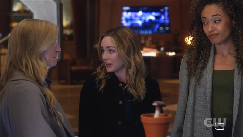Sara tells Ava and Astra no