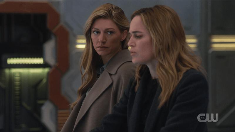 Ava looks at Sara's worried face