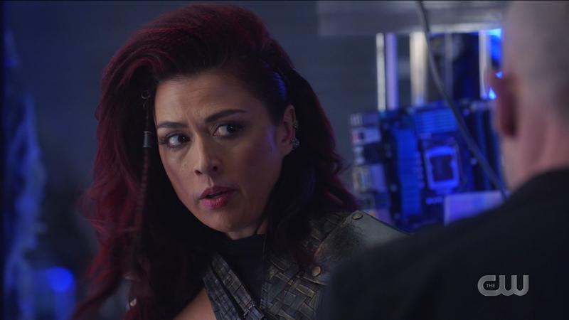 Kayla looks imploringly at Mick