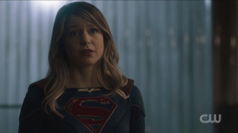 Kara gives her hope speech