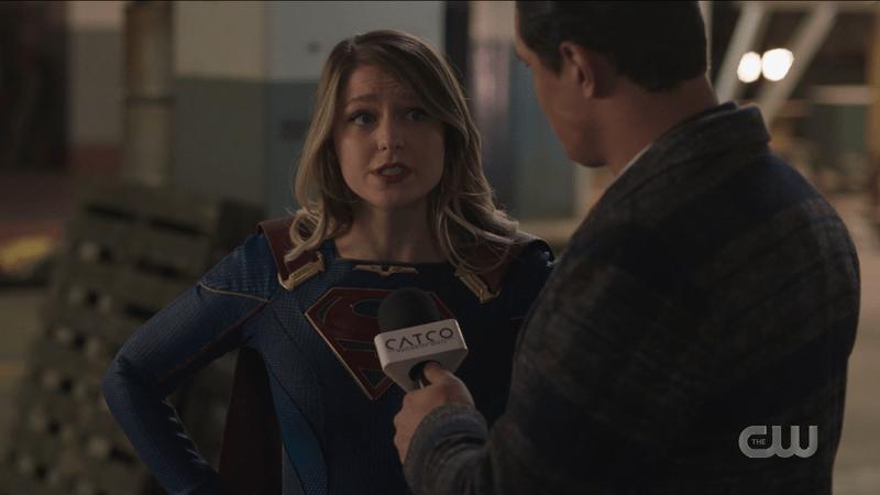 Kara is interviewed by William