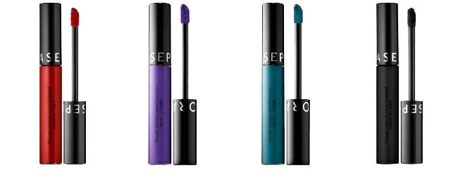 pic of four liquid lipsticks
