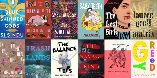 A grid of the covers of selected books featured in this post