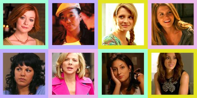 Top row: Willow, Kima, Marissa, Spencer // Row 2: Callie, Samantha, Alex, Bette