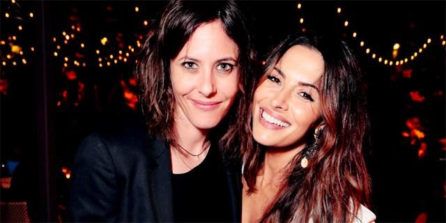 Katherine Moennig and Sarah Shahi