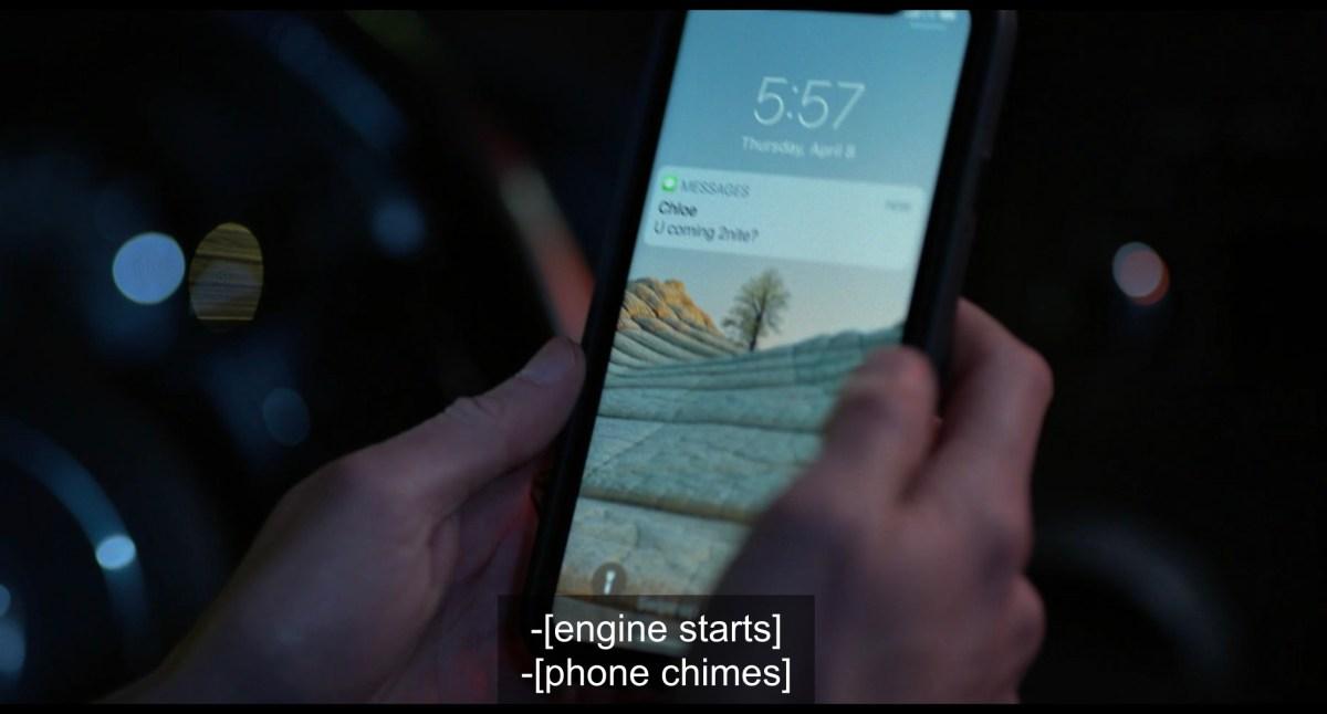 Shane's phone