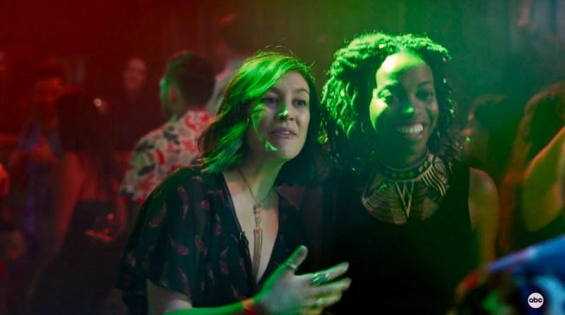 Sarah and Denise go clubbing on Home Economics