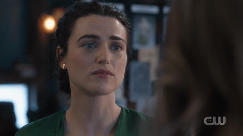 Lena looks helplessly at Kara