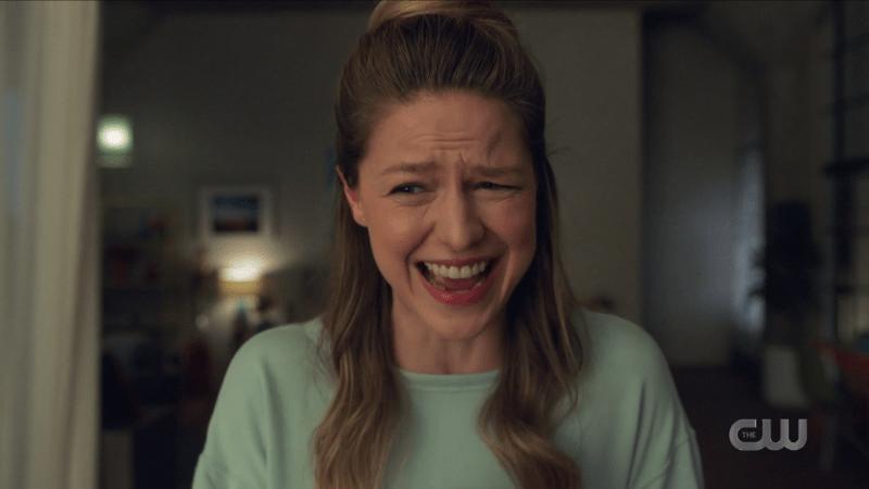 Kara laughs maniacally
