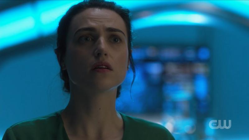 Lena looks distressed