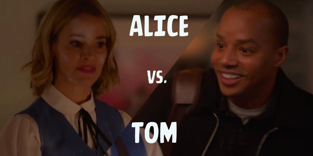 Alice vs Tom